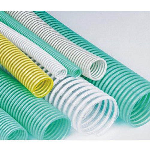 PVC Water Hose (Green/Transparent)